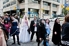 Nice Day for a, zombie wedding