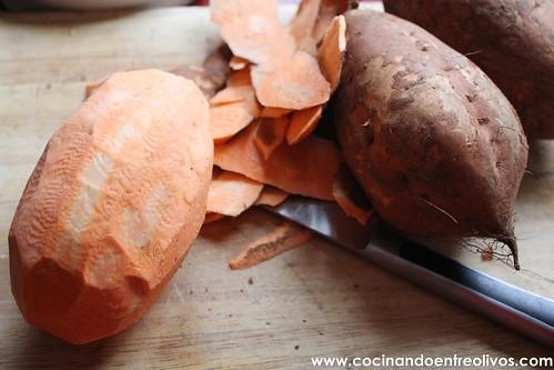 Buñuelos de viento rellenos de batata (3)