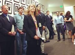 Photo: Arts advocates in action