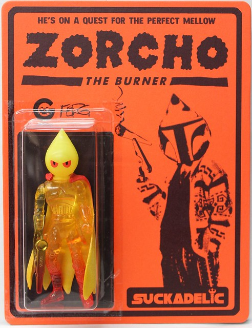 Zorcho by Ferg x Suckadelic Edition of 50 $100 each