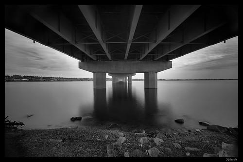 bridge bw illinois nikon missouri mississippiriver alton d800 clarkbridge westalton 1424mmf28nikkor ©copyright