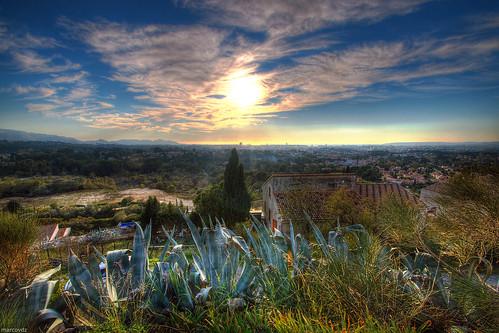 city sun france landscape soleil town marseille cityscape view agave paysage vue hdr ville allauch aloes 3xp