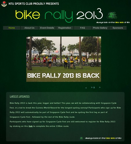 NTU Bike Rally 2013