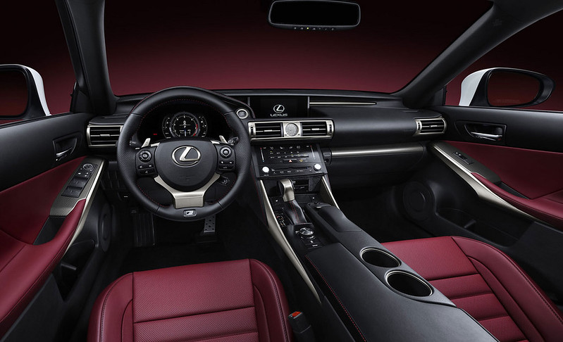 2014 Lexus IS INTERIOR FRONT