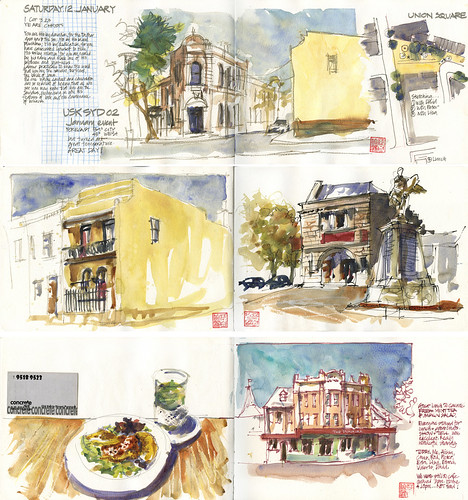 130112 USKSYD Union Sq Sketches