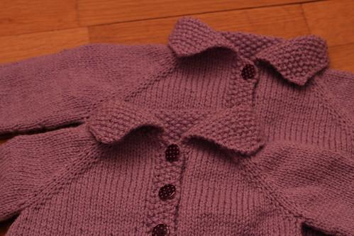 comment tricoter gilet pour petite fille