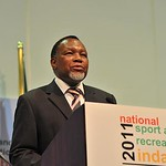 Deputy President Kgalema Motlanthe attends 2011 National Sports Indaba, 21 Nov 2011