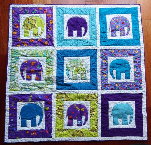Elephant Quilt 01