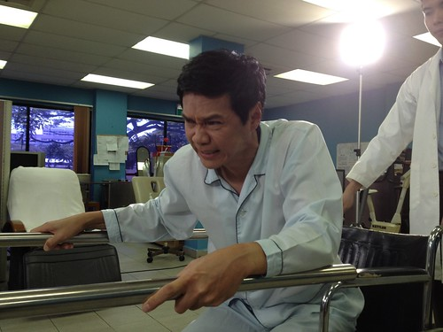 Filming for Mediacorp Channel 8 drama - 我们等你 - 23