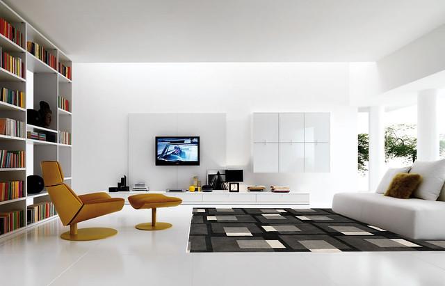 Contemporary Tv Room Decorating Ideas