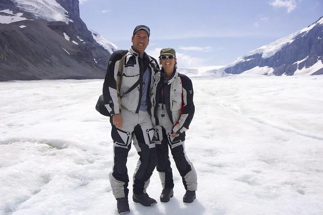 dan and sara columbia icefields