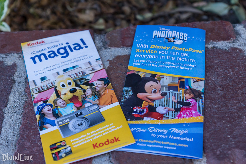 Disneyland Guide Maps Kodak