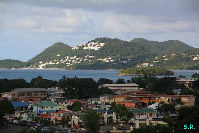 bye bye St. Lucia