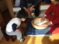 うどんこねこね 2013/1/27