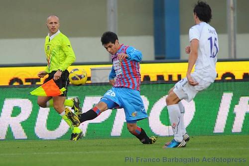 """Catania, Barrientos:""""La squadra è in forma e può dimostrarlo a Napoli"""