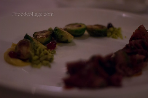 Brussel Sprouts at Auberge du Pommier (Toronto)