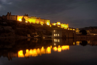 Amber Fort Reflections