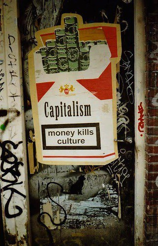 money kills culture by TheLostSociety
