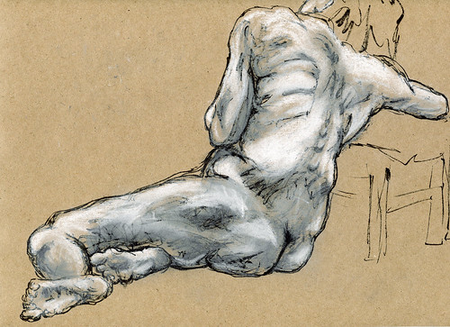 Life Drawing - Sandy Hill-4