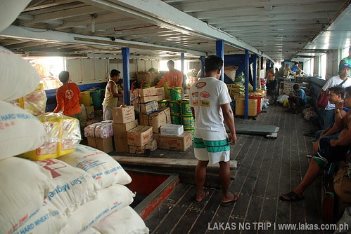Cargo Bay inside Kalayaan 9 - Romblon, Philippines