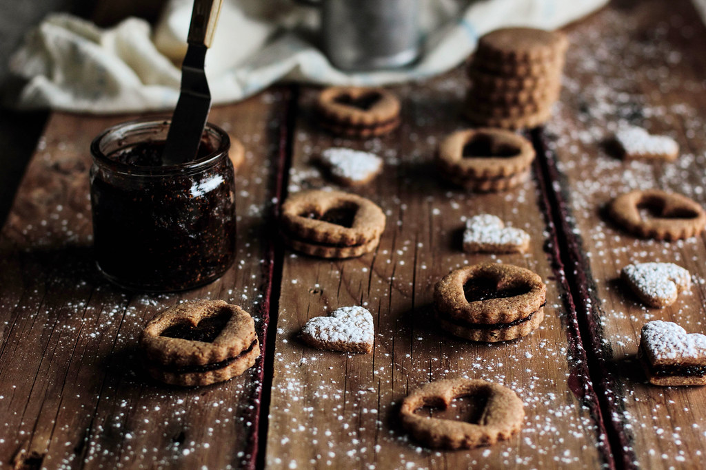 Pastry Affair | Toasted Almond Cookies with Dried Fig Filling
