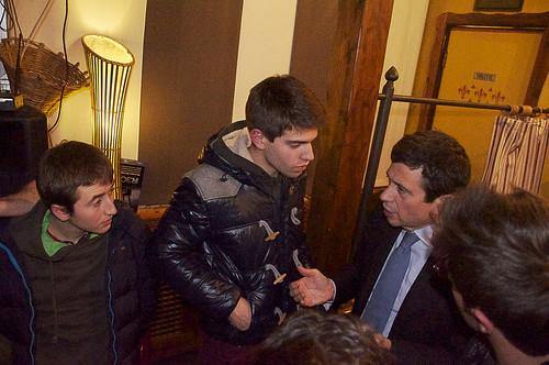 Con i giovani e Stefano Carugo a Carate Brianza