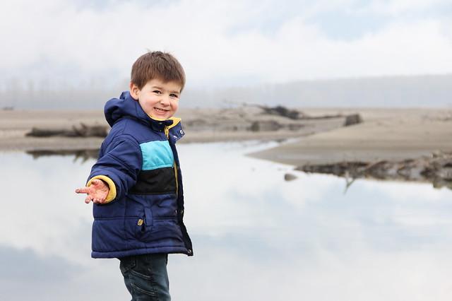 Micah at the River