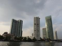 Mae Nam Chao Phraya River Bangkok Thailand Asia Asien