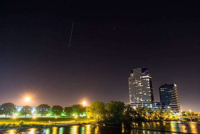 International Space Station Flyover