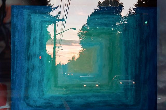 Blue Commute (Film Swap)