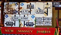 Signposts from Aberdeenshire
