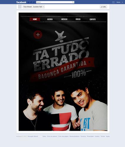 Fanpage - Grupo Ta Tudo Errado by chambe.com.br