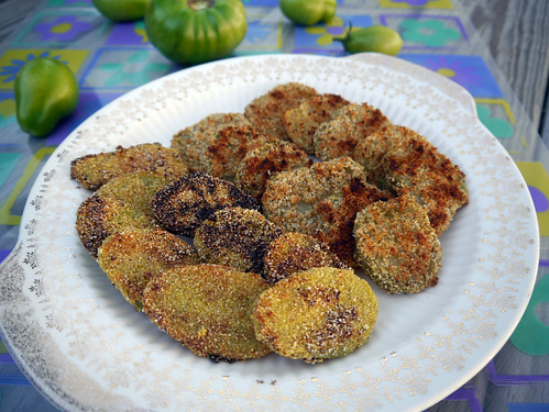 Fried (and Baked!) Green Tomatoes (0010)