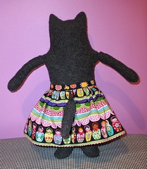 friend Kitty Doll, Mimi Kirchner pattern - Matroyshka Doll Skirt