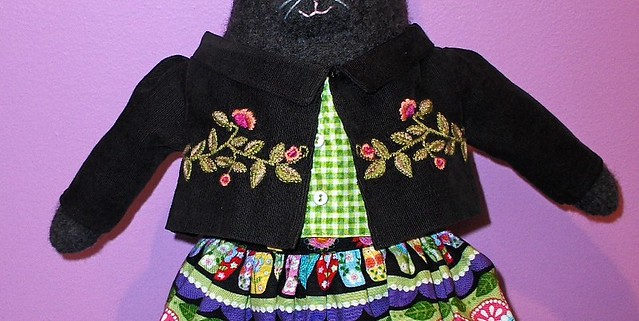 friend Kitty Doll, Corduroy Jacket Prototype