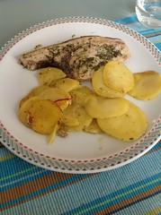 Pesce spada al forno con patate