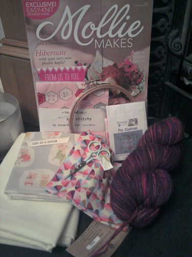 Loot from the Knitting and Stitching show