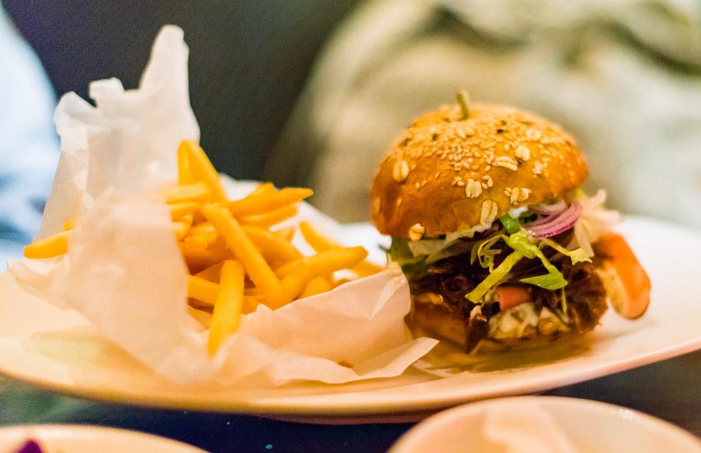 Grain Bar burger