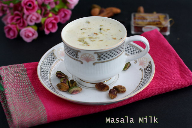 Masala Milk recipe