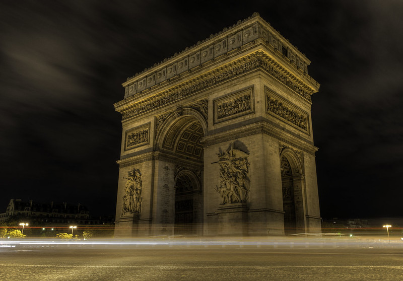 Triumphal Arch; Paris, France