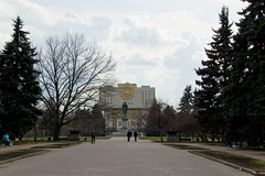Lomonosov Moscow State University Foundamental Library building
