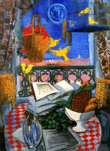 Serna, Ismael de la (1897-1968) - 1930 My Balcony in Nice