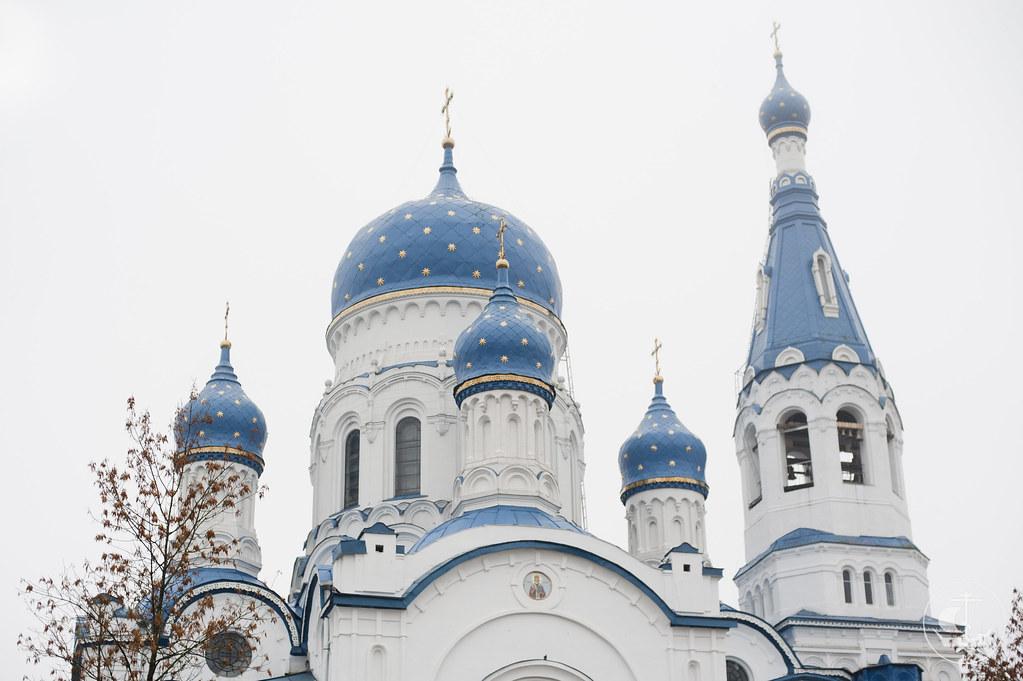 14 октября 2012, Освящение Покровского собора в Гатчине