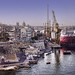 Small photo of Malta: Ship docks at Senglea