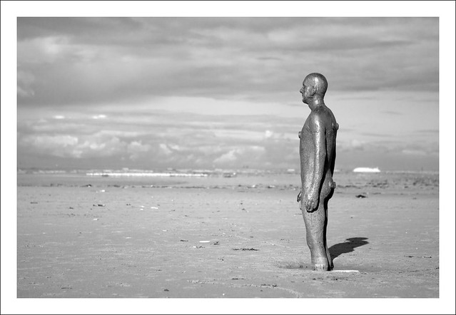Another Place by Anthony Gormley.