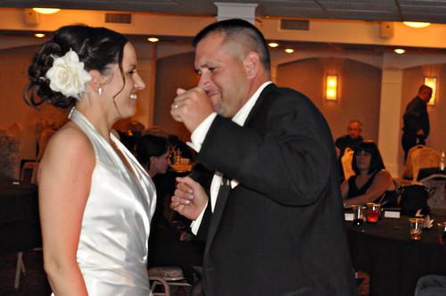 Kim and Brent fun dance