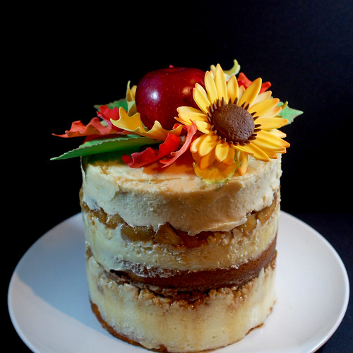 Bourbonnatrix Bakes Apple Pie Layer Cake