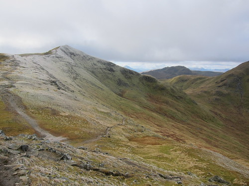 beinn ghlas and my route down