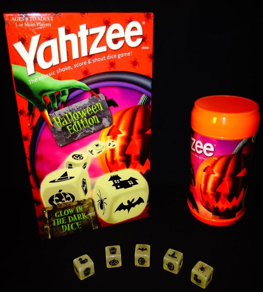Halloween Yahtzee game