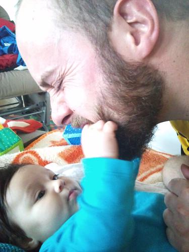 Lilo krault mir seit neuestem immer ganz liebevoll den Bart